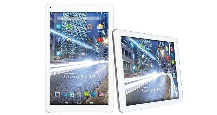 mediacom presenta SmartPad 10.1 S4 3G