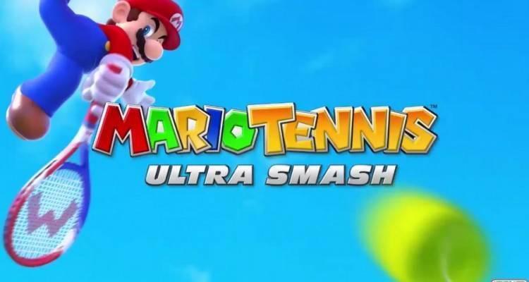 Mario Tennis Ultra Smash.