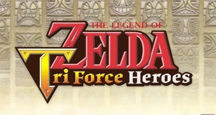 Annunciato Zelda Tri Force Heroes