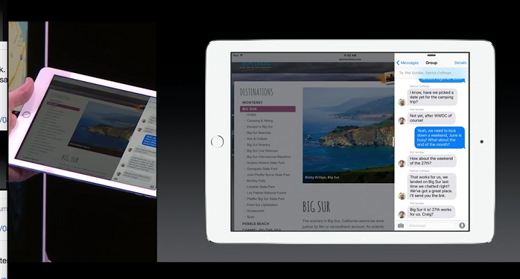 iPad Air 2: arriva il multi-windows grazie a iOS 9
