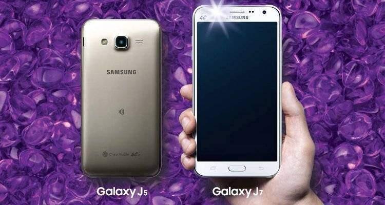 Samsung Galaxy J5 e J7: primi smartphone Samsung con flash LED frontale!