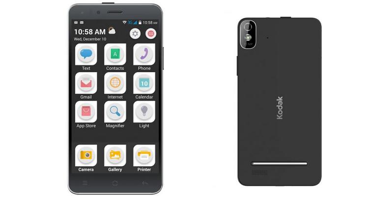 Kodak IM5, il primo smartphone della compagnia ora in Europa