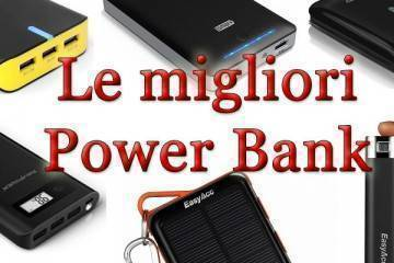 migliori power bank batterie esterne portatili