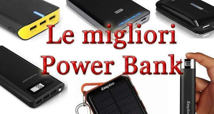 migliori power bank batterie esterne portatili