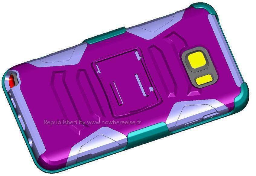 Samsung Galaxy Note 5: prime indicazioni (e foto) sul design