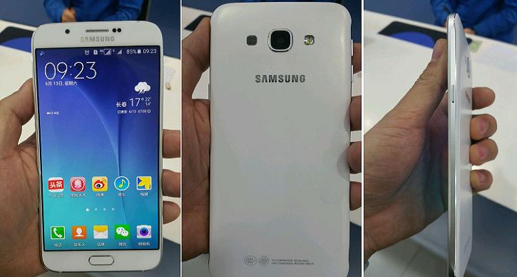 Samsung Galaxy A8: prime immagini e caratteristiche tecniche