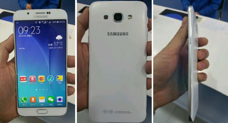 Samsung Galaxy A8 oggetto di un primo video hands on