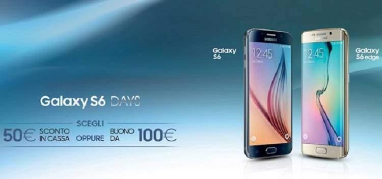 Galaxy S6 Days, nuova promozione di Samsung Italia