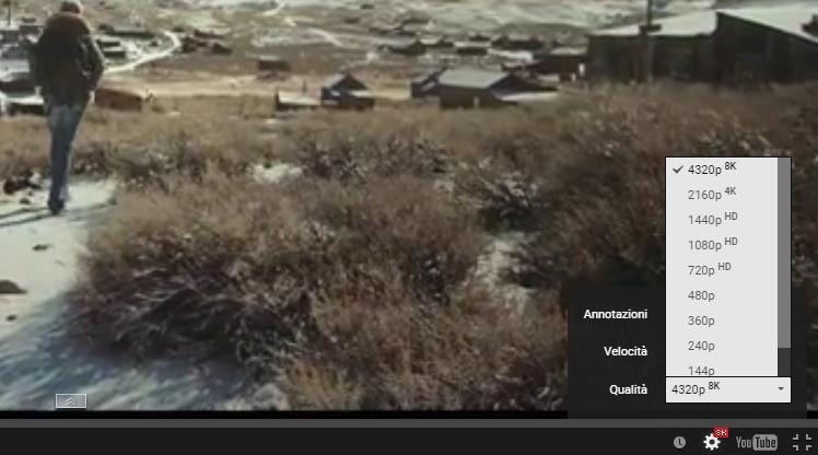 YouTube apre ai video in 8K: perchè è (quasi) inutile