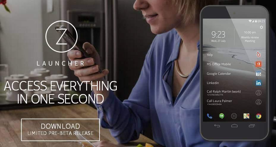 Nokia Z Launcher aggiornato: supporto per i widget