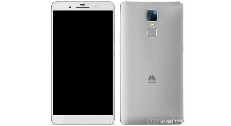 Huawei Mate 8: primo render e presunte specifiche tecniche