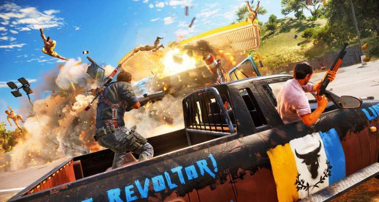 Just Cause 3.