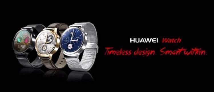 Huawei Watch, arriva il lancio