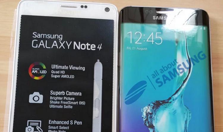 Samsung Galaxy S6 Edge Plus oro, spunta una prima foto