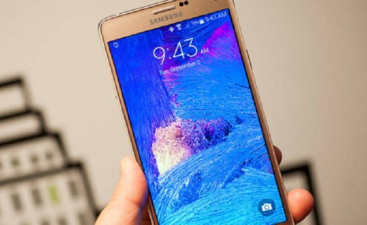 Samsung Galaxy Note 4, in Russia via ad Android Lollipop 5.1.1