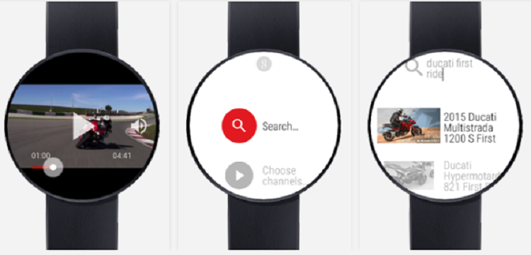 Android Wear, arrivano i video Youtube