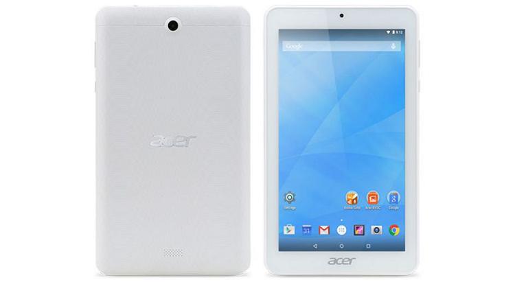 Acer Icona One 7 è ufficiale: immagini e specifiche tecniche