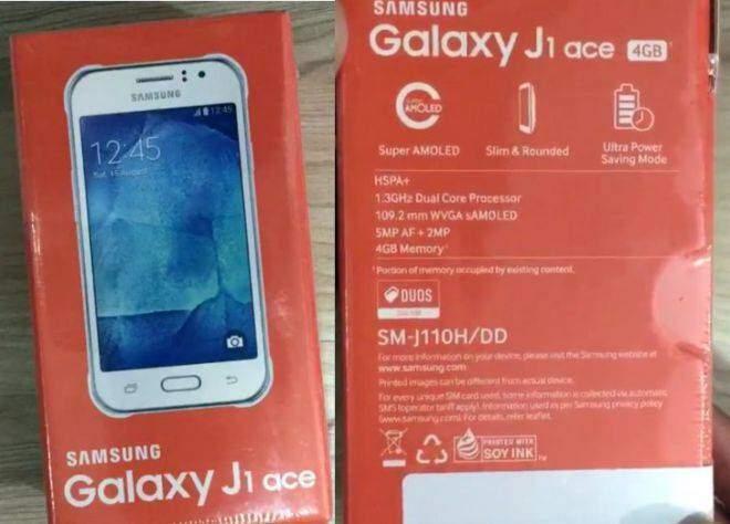 Samsung Galaxy J1 Ace: confermate le specifiche tecniche