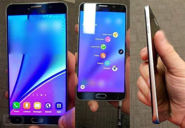 Samsung Galaxy Note 5: prime immagini dal vivo!