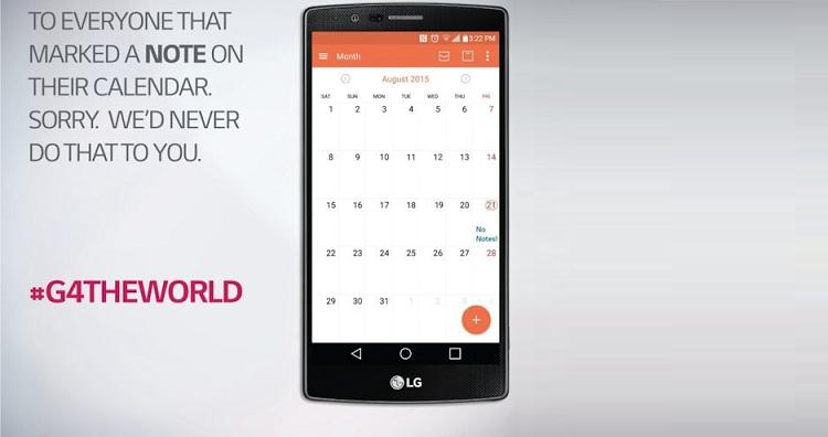 LG scherza su Galaxy Note 5: nel mirino la sua politica commerciale