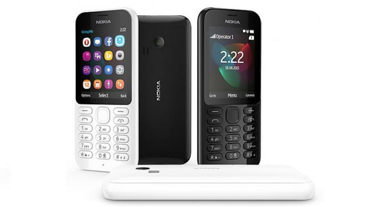 Microsoft svela Nokia 222: si ritorna all'epoca del cellulare
