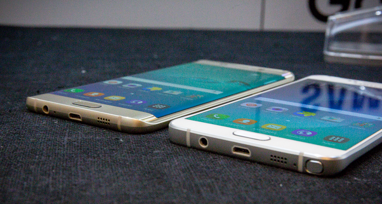 Samsung Galaxy Note 5 e S6 Edge Plus: disponibilità e prezzi