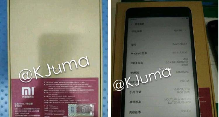Xiaomi Redmi Note 2 con SoC Helio X10: lancio il 13 Agosto?