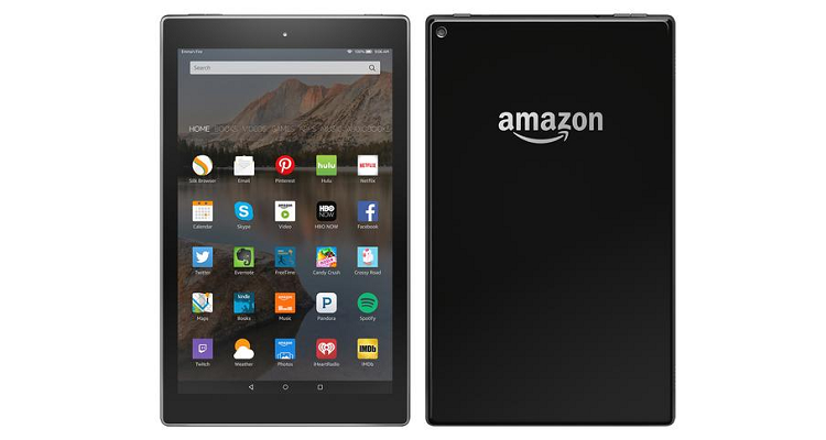 Amazon: trafugate le specifiche dei nuovi tablet da 8 e 10″