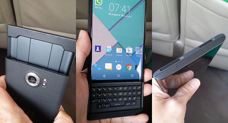 BlackBerry Venice cambia nome: si chiamerà BlackBerry Priv