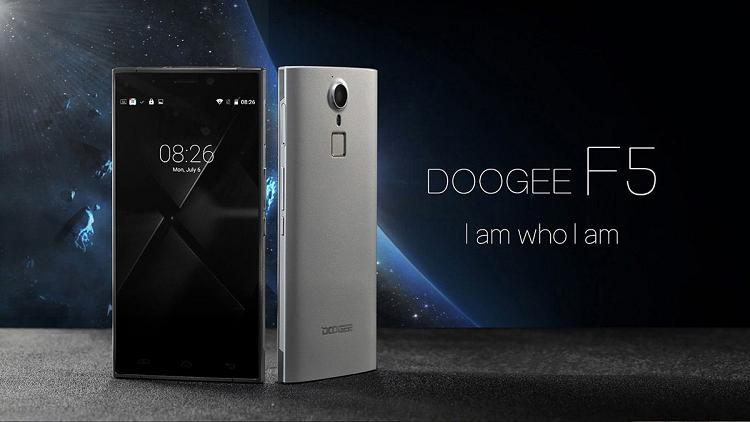 Doogee F5 è ufficiale: un top di gamma a soli 140$!