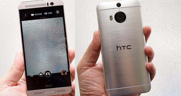 HTC One M9+ Aurora Edition ufficiale con messa a fuoco laser
