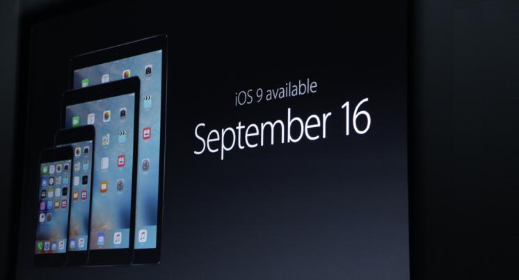 iOS 9 e WatchOS 2 sono ufficiali: al via dal 16 Settembre
