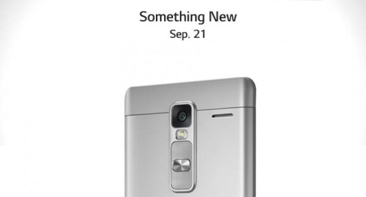 LG Class, nuovo smartphone in metallo in arrivo il 21 Settembre