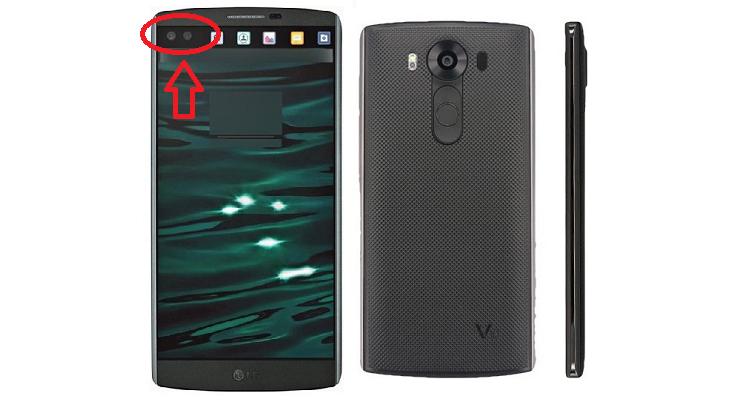 LG V10, video teaser ne conferma la doppia fotocamera frontale