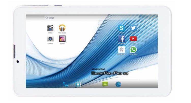 Mediacom SmartPad iPro: da IFA 2015 nuovi tablet lowcost