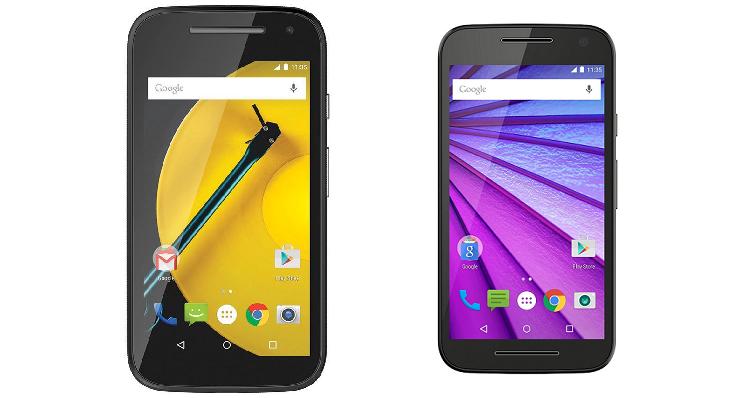 Motorola Moto G 2015 da 2 GB di RAM e Moto E 2015 in offerta su Amazon