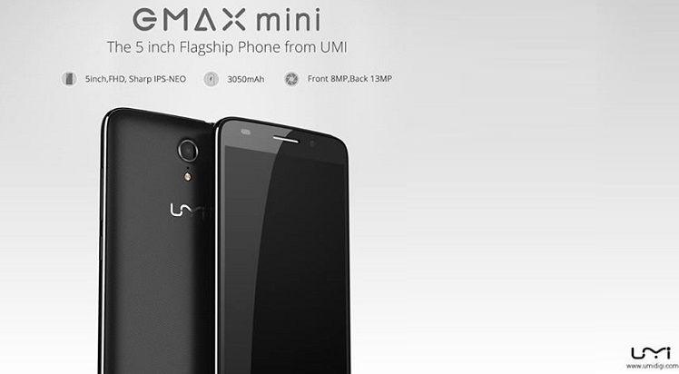UMi eMax Mini: dalla Cina un (buon) midrange a soli 129€!