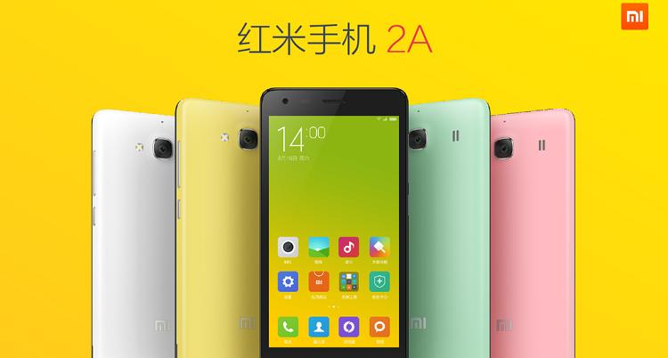 Xiaomi Redmi 2A, prezzo in calo per la variante con 2GB di RAM