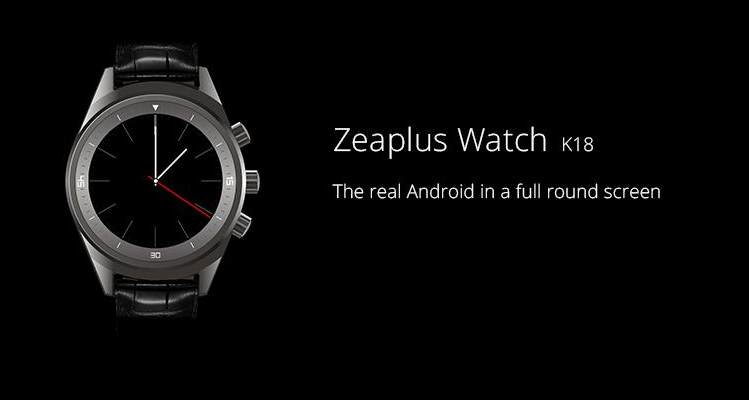 "Zeaplus Watch K18, uno smartwatch con il ""vero"" Android"