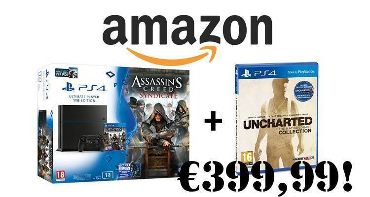 Amazon Assassin's Creed Syndicate PlayStation 4 Watchdogs Uncharted