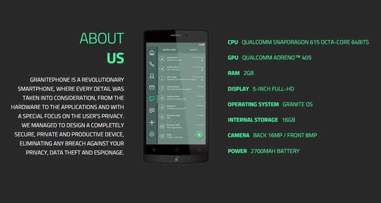 Archos lancia GranitePhone, lo smartphone super sicuro!