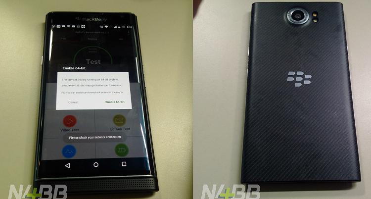 BlackBerry Priv con CPU esa-core: il flagship prende forma