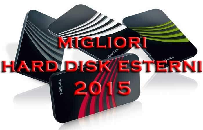 I migliori hard disk esterni 2015