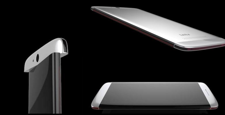 LeTV, un flagship con schermo Dual Edge e fotocamera rotante?