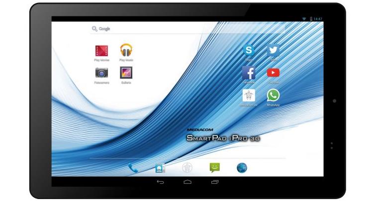 Mediacom svela SmartPad 10.1 HD iPro111 3G: specifiche e prezzo