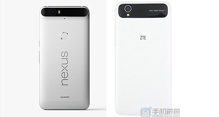 ZTE contro Huawei: il design del Nexus 6P frutto di un plagio?