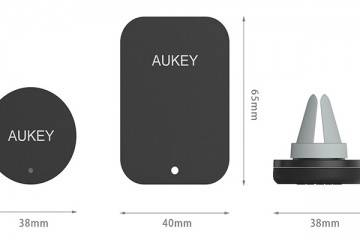 Aukey Magnetic Air Vent Holder supporto magnetico per auto