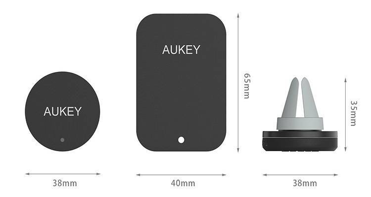 Aukey Magnetic Air Vent Holder: recensione del supporto magnetico per auto