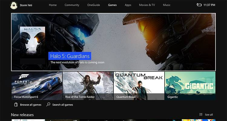 New Xbox One Experience Store