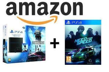 amazon black friday playstation 4 bundle star wars battlefront need for speed